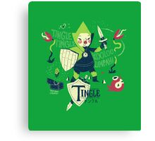 the legend of tingle: the magic words of time Canvas Print
