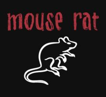 Mouse Rat T-Shirt by thugvarys