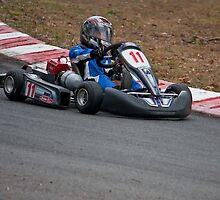 Kart Racing by Rodney Wratten
