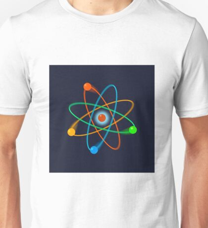 Dynamic Atomic Structure Unisex T-Shirt