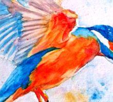 Kingfisher 2 Sticker