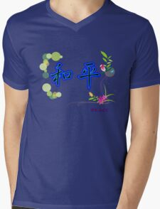 Peace Designers T-Shirts and Stickers Mens V-Neck T-Shirt
