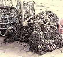 Lobster Pots by Amar-Images