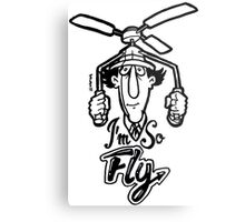 Go Go Gadget Swagger... I'm So Fly Metal Print
