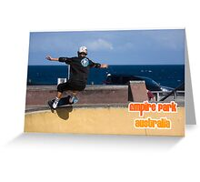 Stand Up Grind Greeting Card