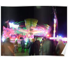 Fairground Attractions Poster