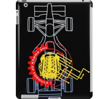 Power of Formula one iPad Case/Skin