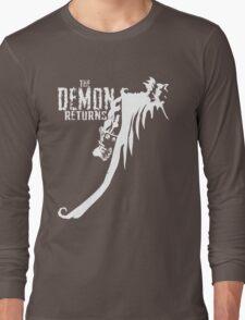 The Demon Returns (White) Long Sleeve T-Shirt