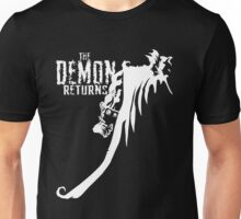 The Demon Returns (White) Unisex T-Shirt