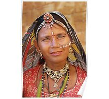 Rajasthani Beauty Poster