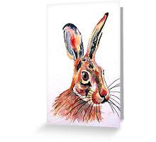 Hare 32 Greeting Card