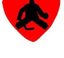 Hockey Goalie Heart by kwg2200