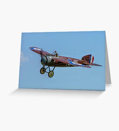 "Bristol M1C ""Bullet"" replica C4918 G-BWJM Greeting Card"
