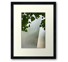 Always a Garden Framed Print