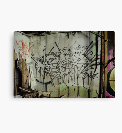 Freeform Graffiti - Canvas Print