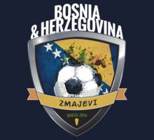 Bosnia and Herzegovina - World Cup Brasil 2014 Collection by idandesign