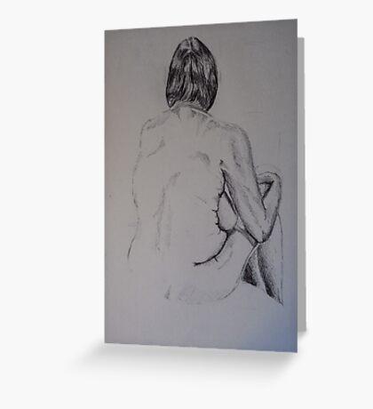 Nude #2 Greeting Card