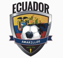 Ecuador - World Cup Brasil 2014 Collection by idandesign