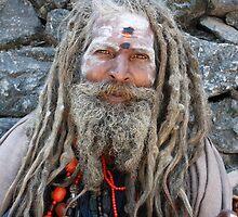 Smiling Sadhu  by AroundOurWorld