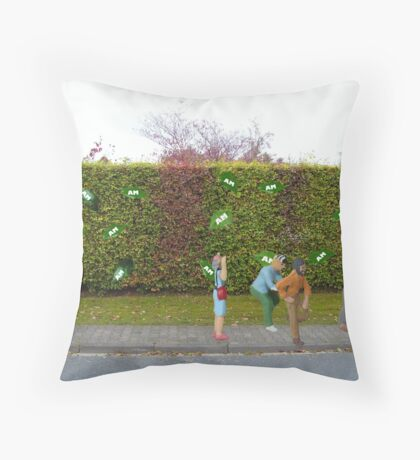 Run for your lives......it's an ambush!!!!!! Throw Pillow