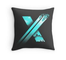 XENO CROSS Throw Pillow