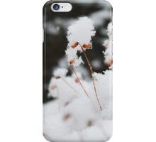 snowy moss iPhone Case/Skin