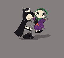 Batman Family Guy iPhone by EdWoody