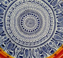 Blue Mandala by jrdnlyons
