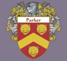 Parker Coat of Arms / Parker Family Crest Kids Tee