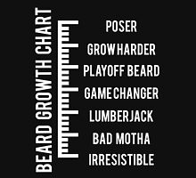 Beard Growth Chart Unisex T-Shirt