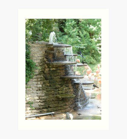 """Fountain"" by Carter L. Shepard Art Print"