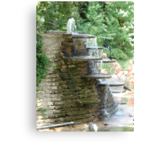 """Fountain"" by Carter L. Shepard Canvas Print"