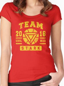 TEAM STARK Women's Fitted Scoop T-Shirt