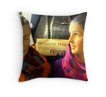 Donegal Ladies Throw Pillow