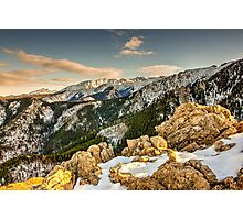 HDR Mountain Landscape Photographic Print
