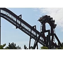 Roller-coaster Photographic Print