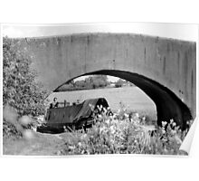 Canal Bridge Poster