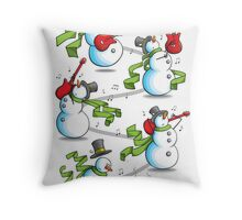 That's 'Snow Way to Rock and Roll Throw Pillow
