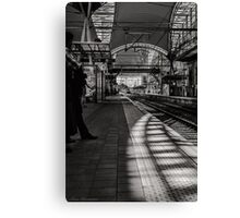 Half past rush hour Canvas Print