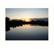 """""""Idaho Sunset"""" by Carter L. Shepard Art Print"""