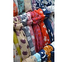 Scarfs  Photographic Print
