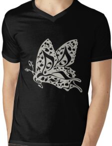 Butterfly_Notes Mens V-Neck T-Shirt