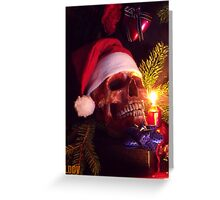 Skull of Christmas Greeting Card