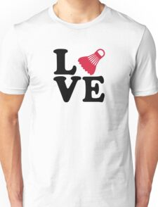Badminton love Unisex T-Shirt