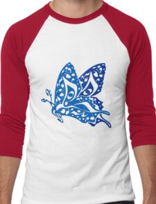Butterfly_Notes Men's Baseball ¾ T-Shirt
