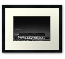 It's choking your atmosphere Framed Print