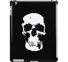 Sherlock Skull Wall Hanging On Black iPad Case/Skin