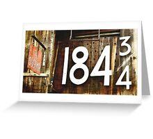 The Silversmith 184 3/4 Greeting Card