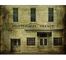 Montgomery Grange Photographic Print