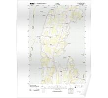 USGS Topo Map  Vermont VT South Hero 20120607 TM Poster